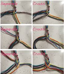 make bracelet from string images Diy of the day fishtail friendship bracelets png
