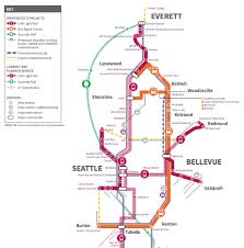 Seattle Light Rail Stops Sound Transit Submits Suburb Heavy Expansion Plan The Urbanist