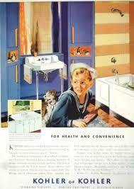 vintage kohler kohler bathroom fixtures ad 1948 bathroom ad ebay