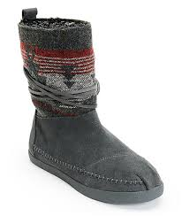 womens boots grey suede grey suede jacquard womens nepal boots