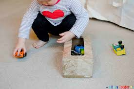 Making A Simple Toy Box by Hidden Toys Baby Activity Busy Toddler