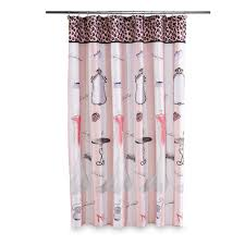 hollywood glam shower curtain home bed u0026 bath bath bathroom