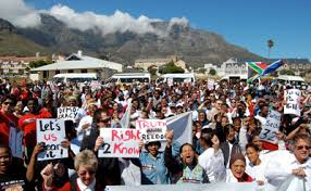 in south africa threats to press cloud human rights day