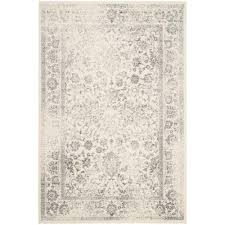 12x18 Area Rugs Safavieh Adirondack Ivory Silver 4 Ft X 6 Ft Area Rug Adr109c 4