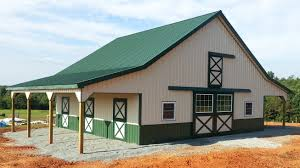 design metal barns with living quarters for even greater strength