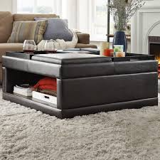 st ives cocktail storage ottoman with flip tray by inspire q