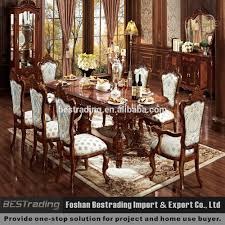 wood carved dining room tables wood carved dining room tables