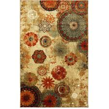 Area Rugs With Circles Mainstays Sheridan Area Rug Or Runner Walmart Com