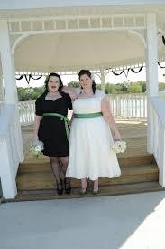 size 26 ivory tea length lace wedding dress weddingbee