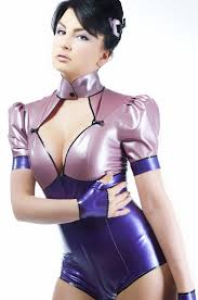 Fashion Leotards For Women Latex Design Fashion Clothing For Women Bodys Short Sleeved