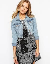 light blue cropped jean jacket cropped jean jackets jackets