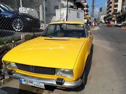vintage peugeot cars tarek chemaly of yellow vintage cars in beirut flashback