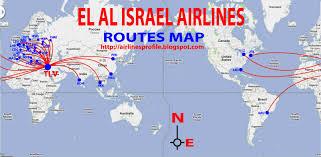 Copa Airlines Route Map by Flight Schedule El Al Israel Airlines Design Plane