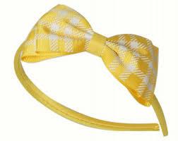 yellow headband yellow bow headband bow headband yellow headband yellow