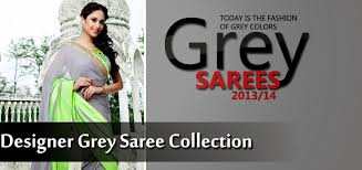 14 Best Our Collections Images by Designer Grey Saree Collection 2013 14 Georgette U0026 Silk Saree U0027s