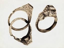 german wedding ring 16th century german wedding ring ring with