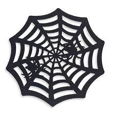 Placemats Bed Bath And Beyond Felt Spider Web Placemat Bed Bath U0026 Beyond