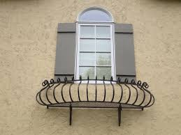 marvelous large balcony design with wooden and wrought iron