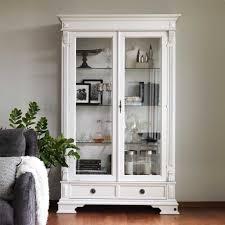 vitrine esszimmer esszimmer vitrine porticia in weiß abschließbar pharao24 de