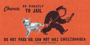 Meme Cheezburger - monopoly cat can not haz cheezburger know your meme