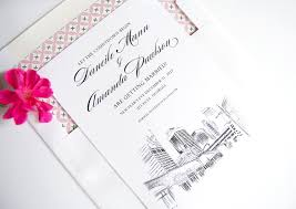 wedding invitations atlanta atlanta skyline save the date cards