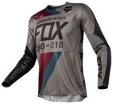 fox motocross kit fox racing 360 draftr jersey revzilla