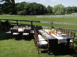 party rentals richmond va farm table rent party rentals md va dc farm table rental party