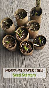 eco friendly wrapping paper seed starting pots from eco friendly cardboard