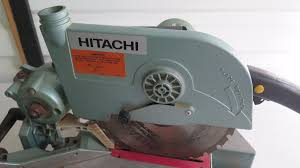 hitachi c10fc compound saw 10