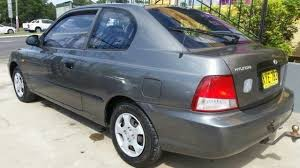 hyundai accent 2001 for sale 2001 hyundai accent lc gl grey 5 speed manual hatchback buy sell