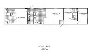 3 bedroom floor plan c 9120 hawks homes manufactured u0026 modular