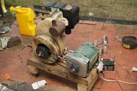lister lt and tapered shaft generator smokstak