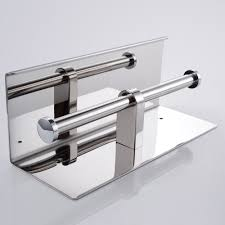 aliexpress com buy stainless steel double roll toilet paper