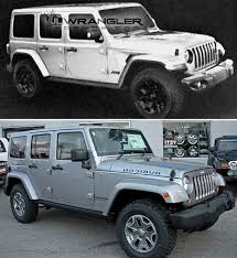 compare jeep wranglers jl jeep wrangler possibly leaked in forum