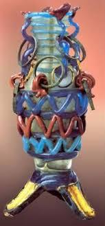 picture ornamental glass vase