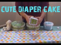 john deere tractor diaper cake tutorial youtube