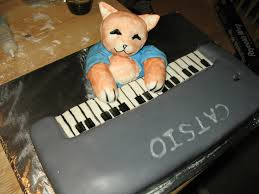 Cat Playing Piano Meme - keyboard cat cake by celsia on deviantart