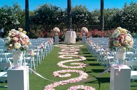 Aisle Runners For Weddings Rose Petal Aisle Runner For Outdoor Wedding Ceremonies Ivory Champagne
