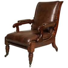 Library Chair William Iv Reclining Library Chair At 1stdibs