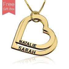 gold mother necklace images 24k gold plated engraved heart disc mother necklace rsnamenecklace jpg