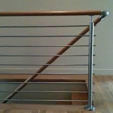 Contemporary Handrail Brackets Contemporary Handrail I Modern Round Handrail I Stainless U0026 Wood