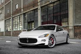custom maserati granturismo convertible ash grey black maserati granturismo on forged adv1 wheels u2014 carid