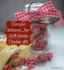 simple mason jar gifts under 5