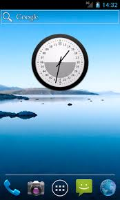 analog clock widgets for android 24 hour 12 at the top analog clock