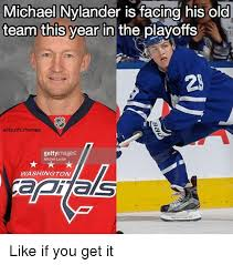 Nhl Memes - michael nylander is facing his old team this year in the playoffs