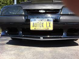 Black Fox Mustang Front Splitter For Fox Body Ford Mustang Forums Corral Net