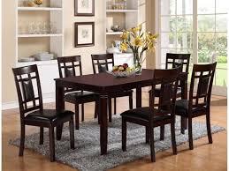 Seven Piece Dining Room Set Dinettes United Furniture Outlet