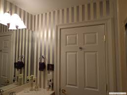 Striped Bathroom Walls Artistic Answers Stencils U0026 Spripes