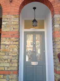 farrow and ball pigeon front door victorian house by laura noctor