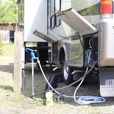 Rv Water Pump System Rv Hookups What You Need To Know Before Your First Trip Progressive